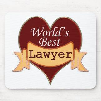 World s Best Lawyer Mousepad