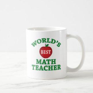 World s Best Math Teacher Coffee Mug