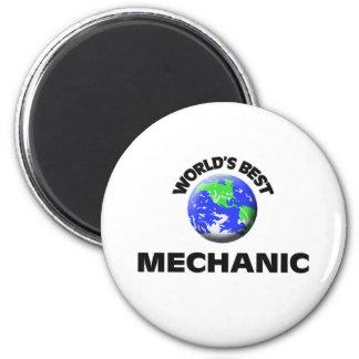 World s Best Mechanic Fridge Magnet