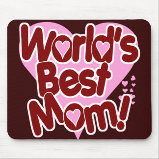 World s Best Mom Mouse Mat