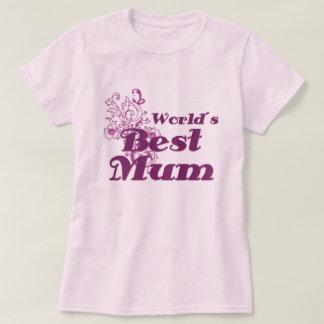 World´s Best Mum Tshirt