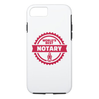 World's best notary iPhone 7 case