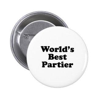 World s Best Partier Pin