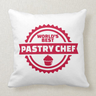 World's best pastry chef cushion