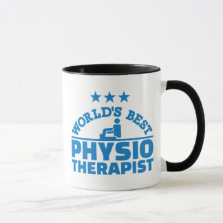 World's best physiotherapist mug