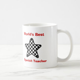 World s Best Spanish Teacher or Any Profession 16 Coffee Mugs