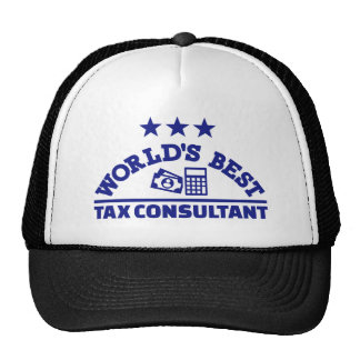 World's best tax consultant cap