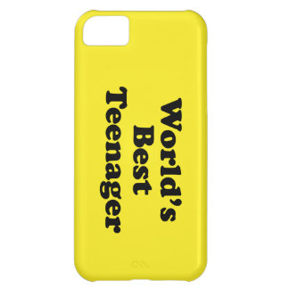 World s Best Teenager Cover For iPhone 5C