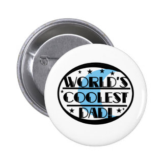World s Coolest Dad Buttons