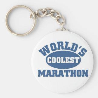 World s Coolest Marathon Key Chain