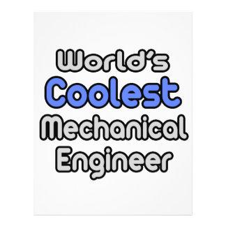 World s Coolest Mechanical Engineer Flyers
