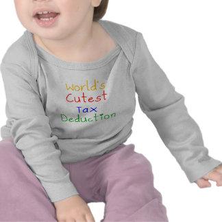 World s Cutest Tax Deduction T-shirts