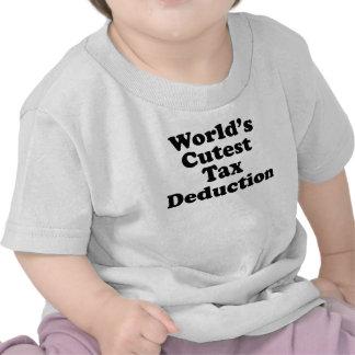 World s Cutest Tax Deduction Shirt