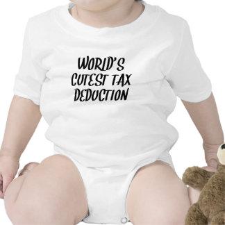 World s Cutest Tax Deduction Baby Bodysuit