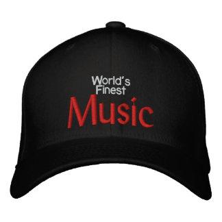 World s Finest Music Embroidered Baseball Cap