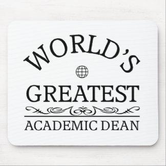 World s greatest Academic Dean Mousepad