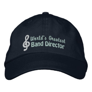 World s Greatest Band Director Baseball Cap