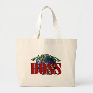 World s Greatest Boss Bag