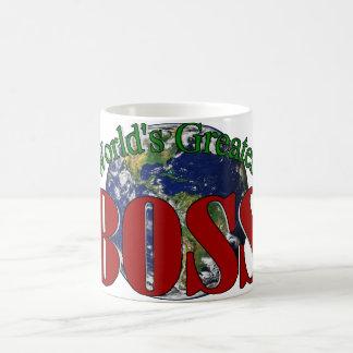 World s Greatest Boss Coffee Cup Coffee Mugs