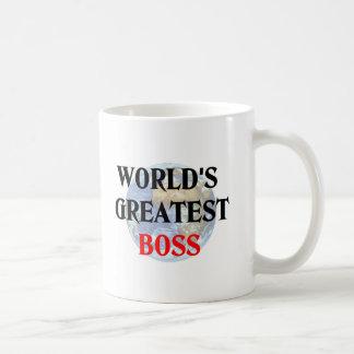 World s greatest boss mug