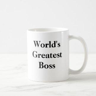 World s Greatest Boss Coffee Mugs