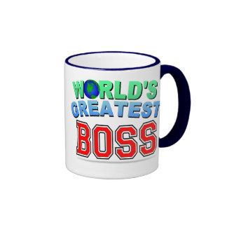 World s Greatest BOSS Mugs