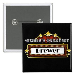 World s Greatest Brewer Pins