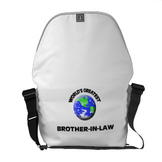 World s Greatest Brother-In-Law Messenger Bag