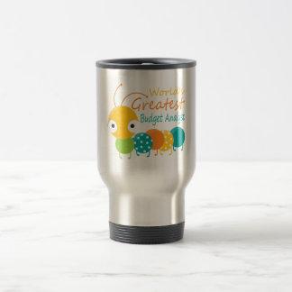 World s Greatest Budget Analyst Coffee Mugs