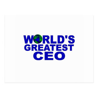 World s Greatest CEO Post Cards