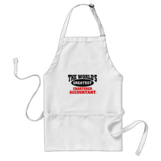 World s Greatest Chartered Accountant Aprons