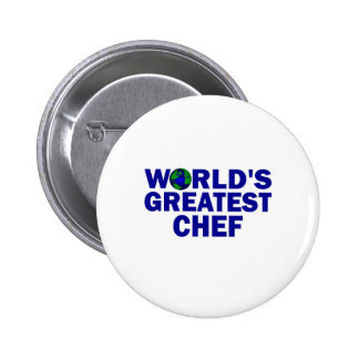 World s Greatest Chef Pinback Buttons