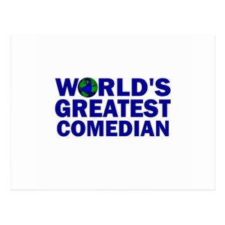World s Greatest Comedian Post Cards