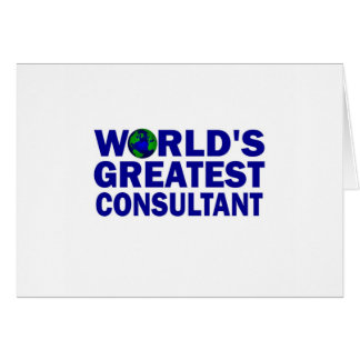 World s Greatest Consultant Cards