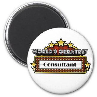 World s Greatest Consultant Fridge Magnets