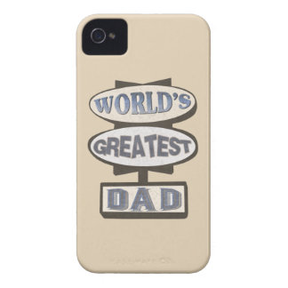 World s Greatest Dad BlackBerry Barely There Case Blackberry Bold Covers