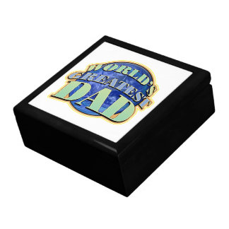 World s Greatest Dad Classic Tile Gift Trinket B Jewelry Boxes