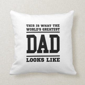 World s Greatest Dad Pillows