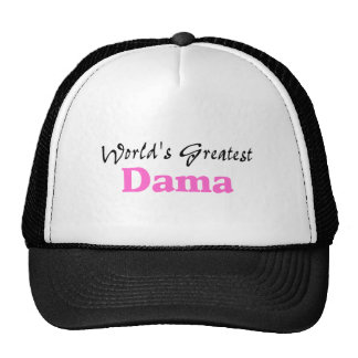 World s Greatest Dama Trucker Hats