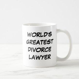 World s Greatest Divorce Lawyer Mug