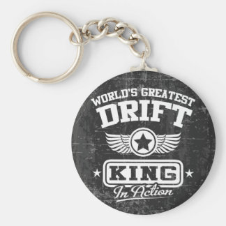 World s Greatest Drift King In Action Key Chain
