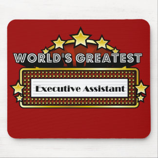 World s Greatest Executive Assistant Mouse Pad