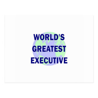 World s Greatest Executive Post Cards