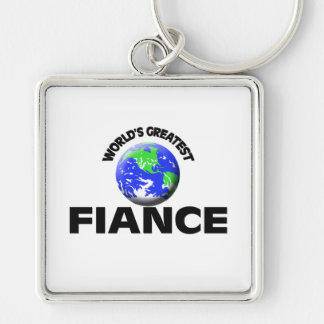 World s Greatest Fiance Key Chains