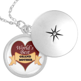 World s Greatest Grandmother Personalized Necklace