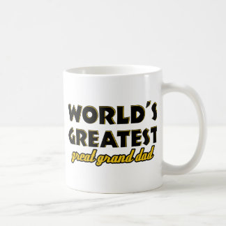 World s greatest great granddad mug