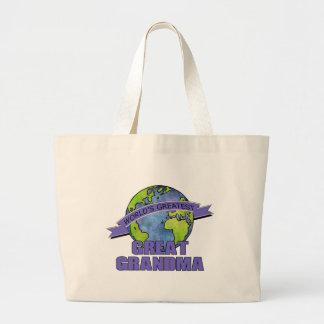 World s Greatest Great Grandma Tote Bag