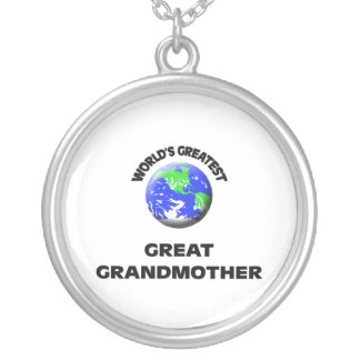 World s Greatest Great Grandmother Personalized Necklace