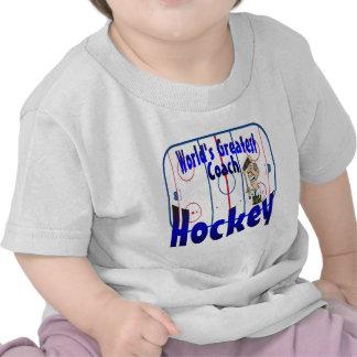 World s Greatest Hockey Coach Tshirt