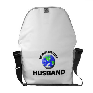 World s Greatest Husband Courier Bags